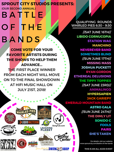 Sprout City Studios: Battle of the Bands