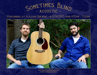 Sometimes Blind - Acoustic @ Alesong Brewing
