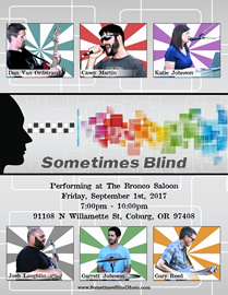 Sometimes Blind @ The Bronco Saloon