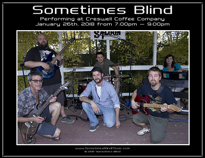 Sometimes Blind - Acoustic @ Creswell Coffee Co.