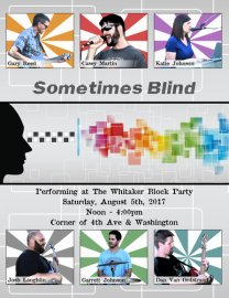 Sometimes Blind @ Whitaker Block Party